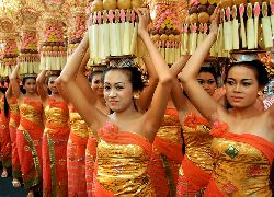 Balinese Temple Festival - Bali Sightseeing Tour